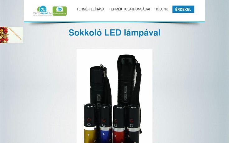 Preview önvédelmi LED Lámpák sokkolóval