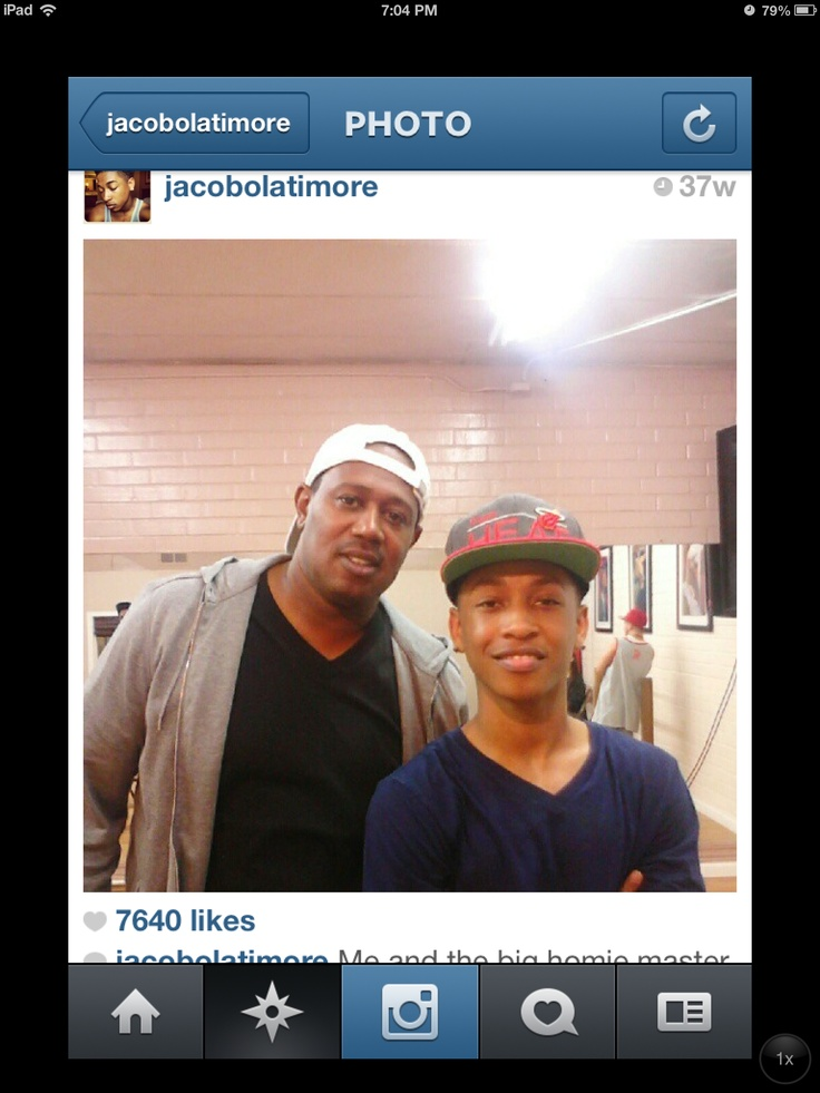 Jay with Master P