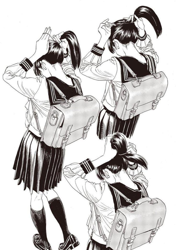 となりのヤングジャンプ : 明日(あけび)ちゃんのセーラー服 3話