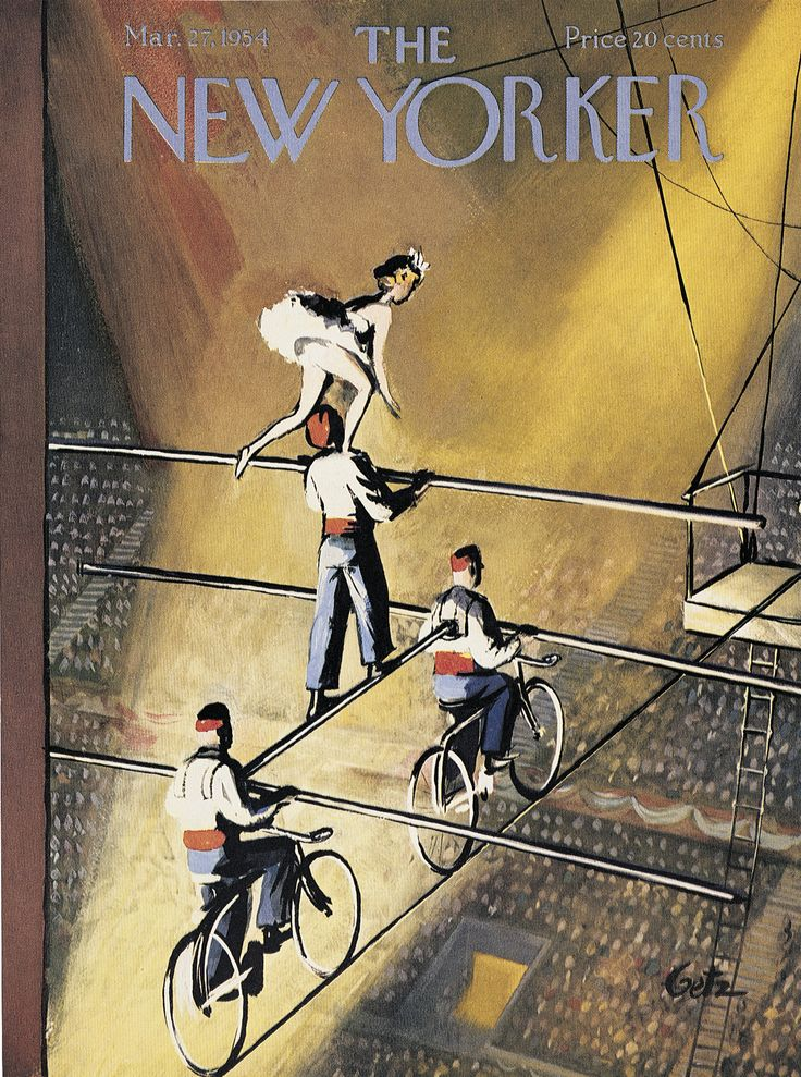 New Yorker COVER Sept 4 1971, Arthur Getz, crowded camp, ADD'L COVERS SHIP FREE