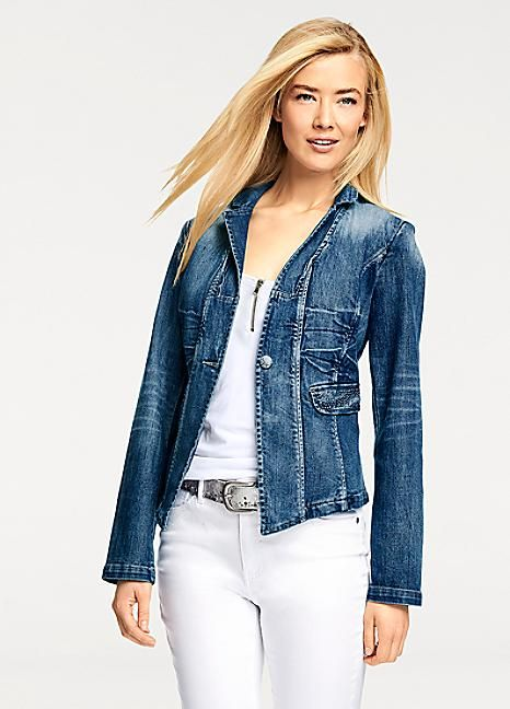 B.C. Best Connections Denim Jacket #Kaleidoscope #Denim #Fashion #Style