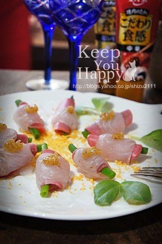 ヒラメのカルパッチョ 塩レモンのせ+* by shizueさん | レシピブログ ...