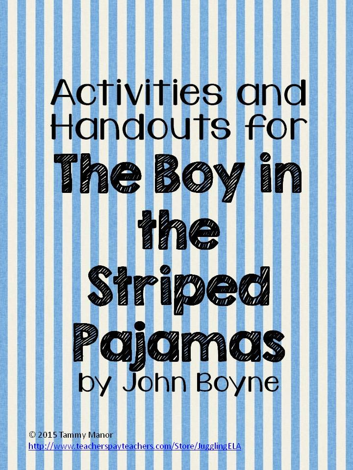 **Recently revised to include answer keys** My unit for the novel The Boy in the Striped Pajamas is now 66 pages long.