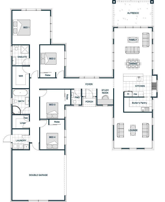 Your series stonewood statics pavillion 252 for Pavilion style house plans