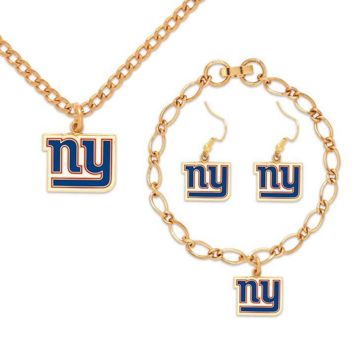 New York Giants Spinner Key Ring