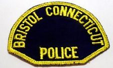 OLD BRISTOL CONNECTICUT POLICE PATCH