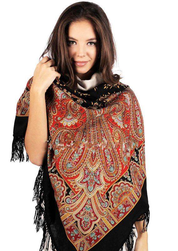 Бирюсинка - 18 *** Павловопосадские платки и шали