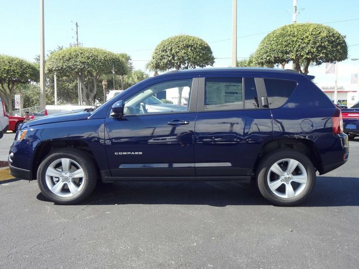 2014 Jeep Compass Latitude True Blue Pearlcoat (With