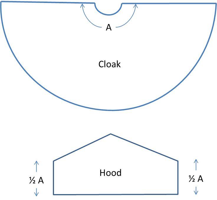 Hobbit Cloak Instructions 1