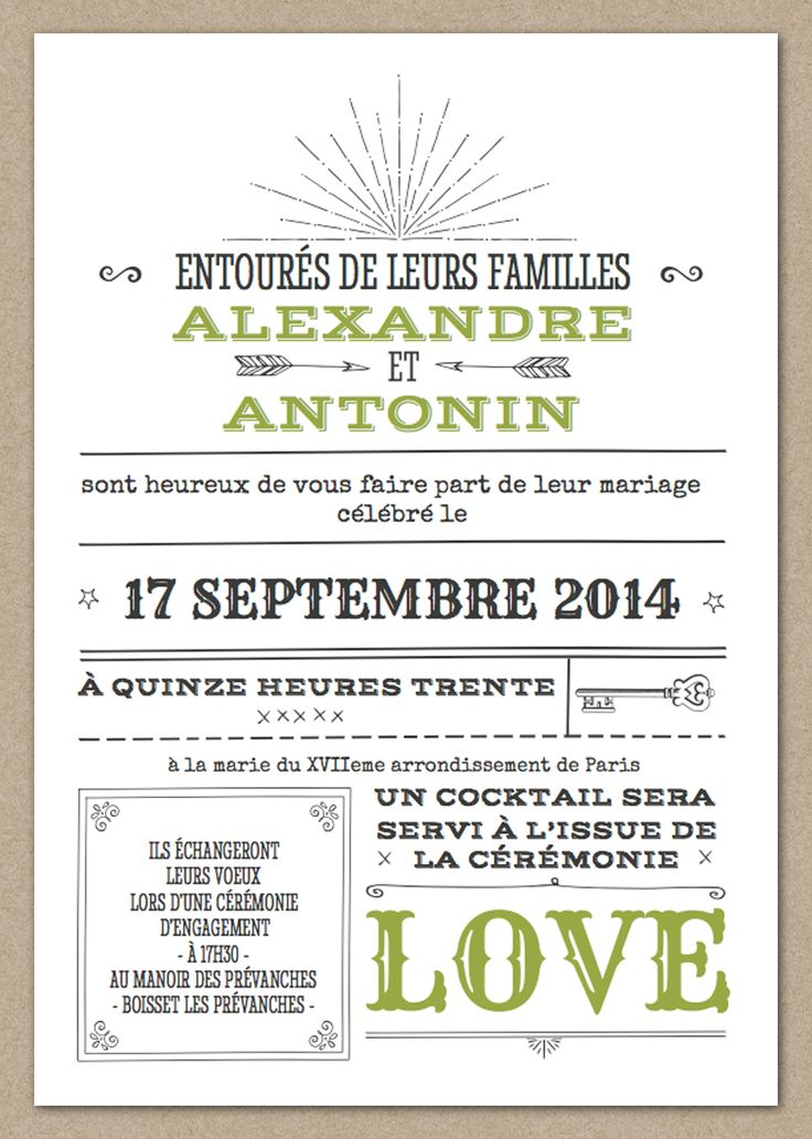 17 best ideas about texte invitation mariage on pinterest remerciement mariage texte texte. Black Bedroom Furniture Sets. Home Design Ideas