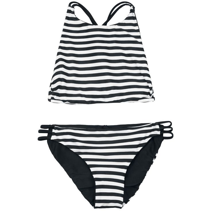 Reversible Bustier Bikini Set