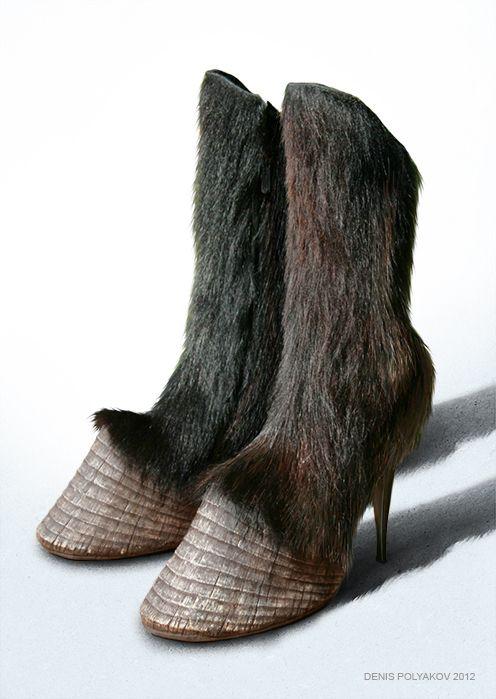 High Heel Hoof Shoes