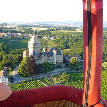 Vol en Mongolfière à Lausanne en Suisse - Sport Découverte - www.sport-decouverte.com
