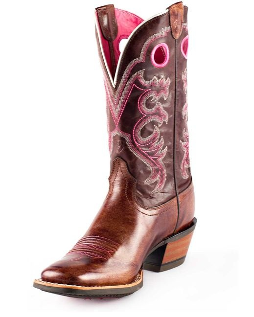 I have recently discovered the absolute comfort of a good pair of cowgirl boots.  These sure are purty.  from Country Outfitter $199