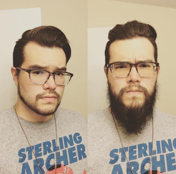 Mas mesmo aparar um pouquinho da barba já pode fazer muita diferença.