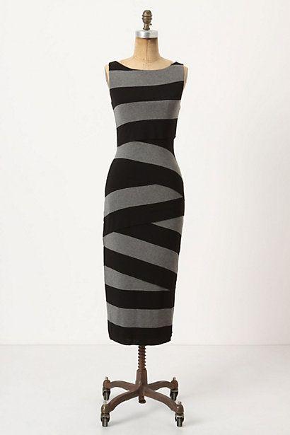 I love this dress!Long Dresses, Birthday Dresses, Stripes Columns, Style, Clothing, Anthropologie Dresses, Columns Dresses, Grey Dresses, Rugby Stripes