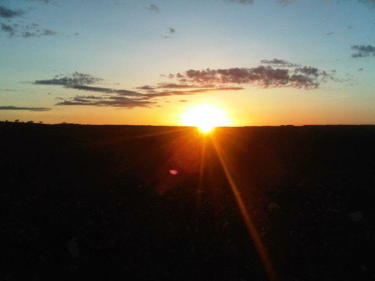 Sunrise in the Pibara