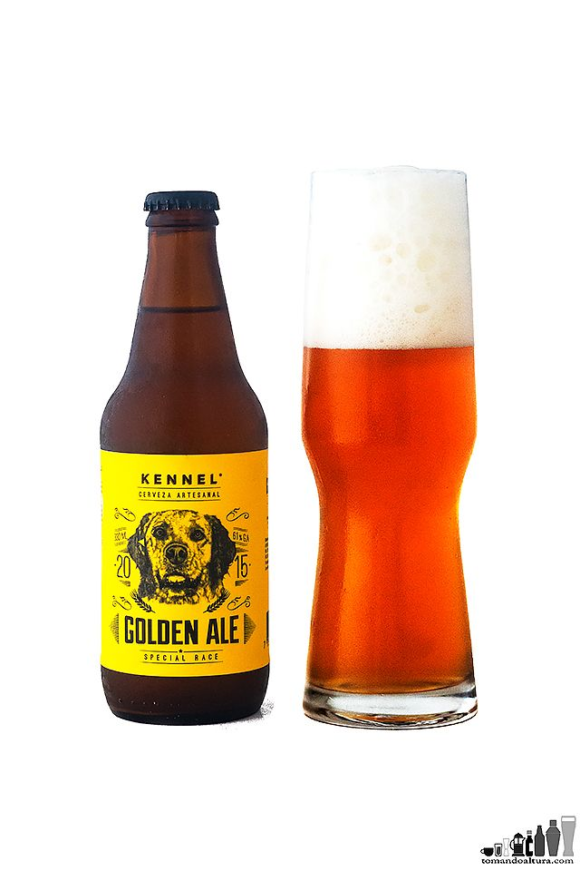 Golde Ale La Blonde Ale De Kennel Botellas De Cerveza Cerveza