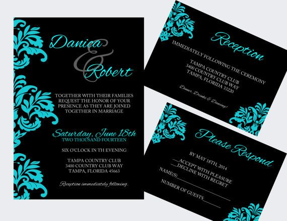 I love these invitations... DIY Wedding Invitation Template  Instant by ElegantPrintables, $20.00