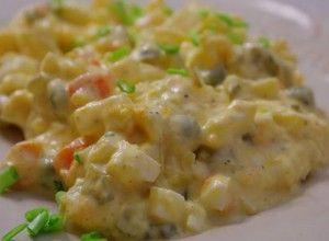 salata de cartofi tradiționale