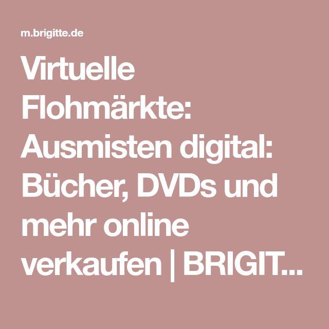 Virtuelle Flohmärkte: Ausmisten digital: Bücher, DVDs und mehr online verkaufen | BRIGITTE.de