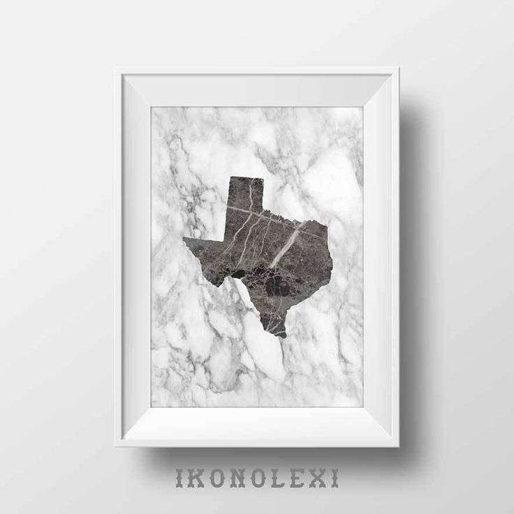 Black map of Texas, wall prints, US state map, art poster, black marble Texas map, Texas state, white marble, wedding gift registry by Ikonolexi on Etsy