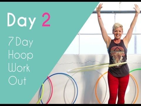 Day 2 of the 7 Day Hoop Workout. Core conditioning. Feel fit and strong with this core cardio workout. http://hooplovers.tv/day-2-core-workout-7-day-hoop-workout/