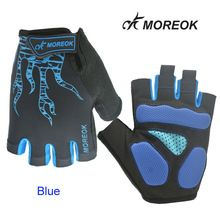 MOREOK Half Finger Cycling Gloves Mens Women's Sports Bike-Bicycle Gloves Nylon MTB Gloves Guantes Ciclismo //Price: $US $16.60 & FREE Shipping //     #hashtag3
