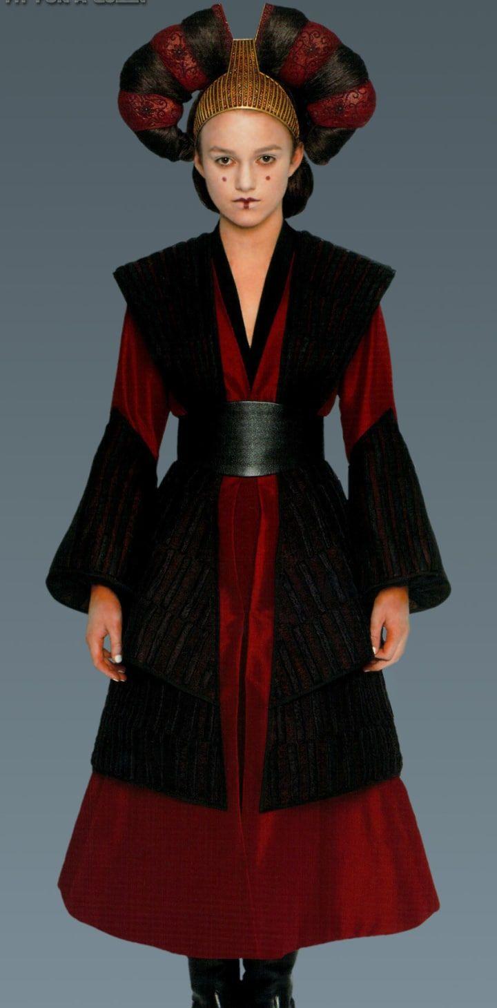 Star wars princess amidala costume - Princesse amidala ...
