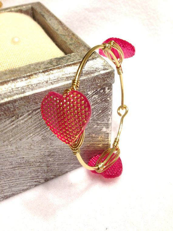 Wire wrapped bracelet  Wire Wrapped Bangle  Sourthern by Barysto