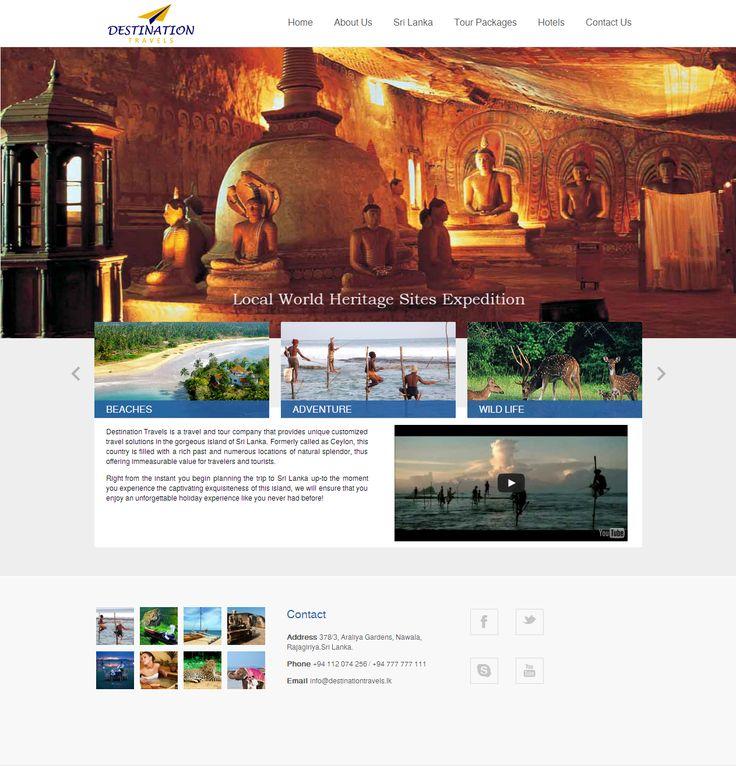 Destination Travels Website