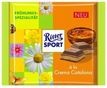 RITTER SPORT Frühlingssorte à la Crema Catalana (2013)