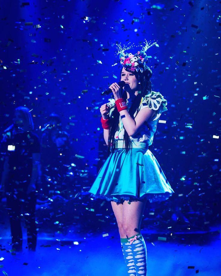 Jamie-Lee Kriewitz performs her song 'Ghost' #ulfs #eurovision #2016 #germany #jamieleekriewitz #ghost by eurovision