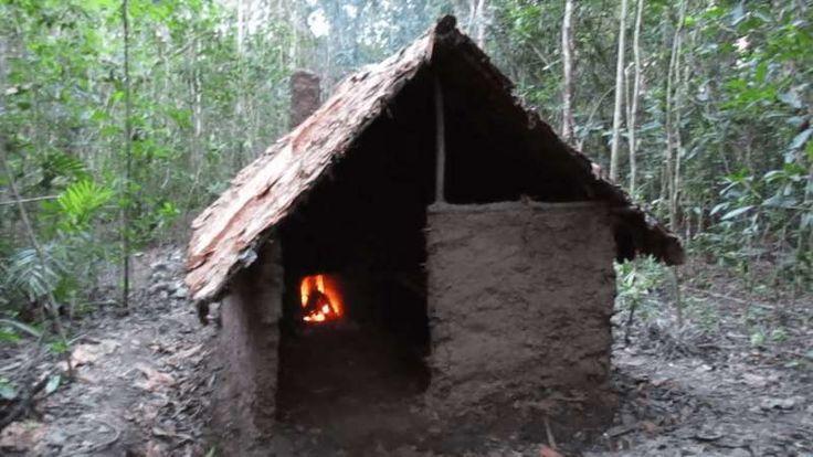 Φωτιά, λάσπη, ξύλα και λίγες πέτρες. Αυτά χρειαζόντουσαν οι πρωτόγονοι για να χτίσουν τα σπίτια τους.