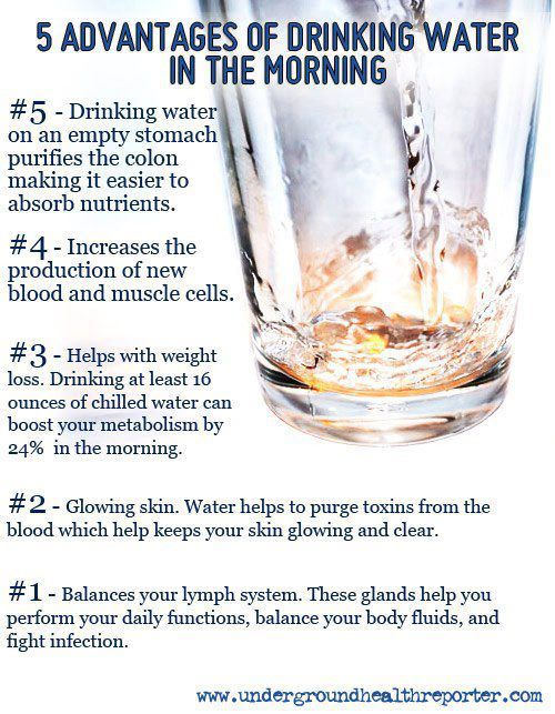 Five Advantages of Drinking Water in the Morning
