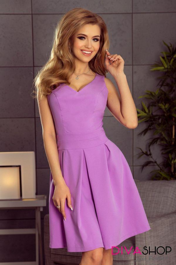 Rochie de ocazie eleganta violet