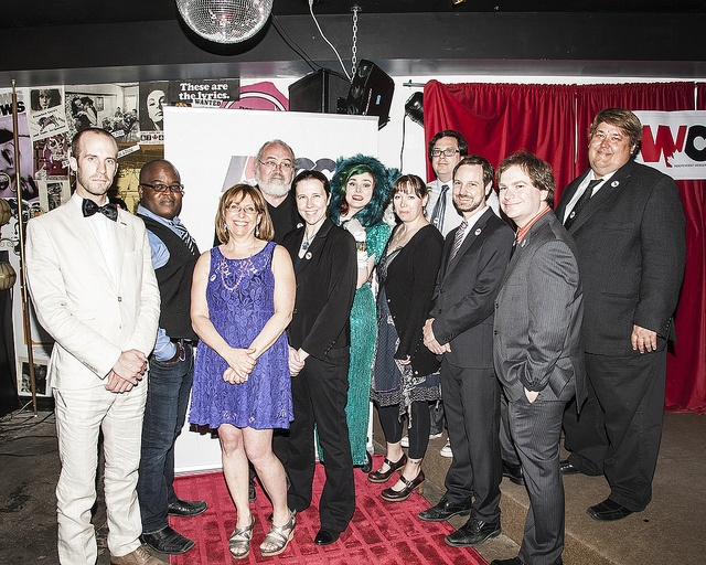 The Interim Board of the Independent Web Series Creators of Canada #iwcc #indie #webseries #redcarpet #glamour #vintage