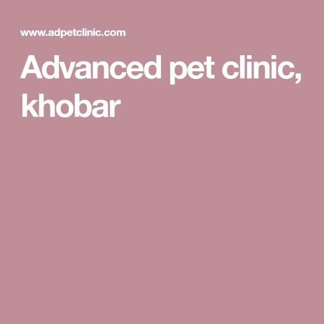 Advanced pet clinic, khobar