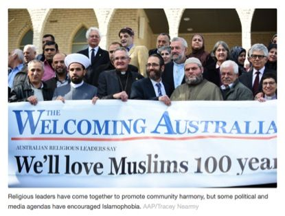 "Politicians and media let us down in fight to curb rising Islamophobia -Oz is a fertile environment for Islamophobia.Stereotypical representations of Muslims in the ""War on Terror"" –links terrorism, violence and Islam– Sections of the news media, politicians and social media have re-activated these stereotypes.Muslim Aussies are targets -for everything from the everyday racism encountered in schools and on the streets, to draconian counter-terrorism legislation that restricts civil liberties"