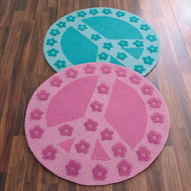 Peace Sign Kids Rug Companykids