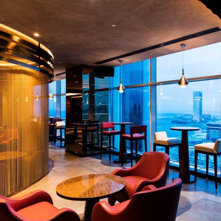 Lighting Designer Lumen Arts Location Alto Lounge Downtown Rotana Hotel In Manama