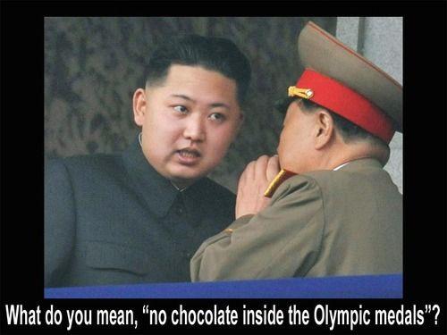 What, no chocolate?Funny Pics, Kim Jong, North Korea, Funny Pictures, Funny Stuff, Northkorea, Humor, Book Jackets, Funny Memes