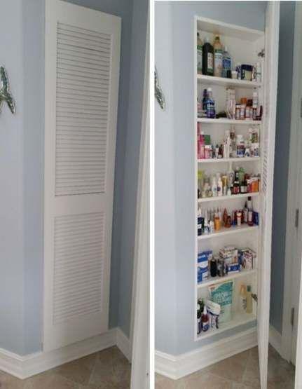 36+ Trendy Diy Bathroom Shelves Above Toilet Medicine Cabinets   – DIY Babies-To…   – Shelvess