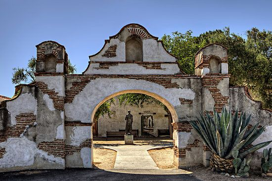 San Miguel Arcangel Mission, California                                             pic by Brendon Perkins