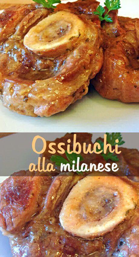 Oggi vi propongo, un'altra ricetta tipica della tradizione milanese, ossia l'ossobuco. Per mio gusto personale, preferisco quelli di vitello ma va bene anche di bovino adulto o di bue.