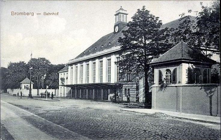 Dworzec Główny 1914
