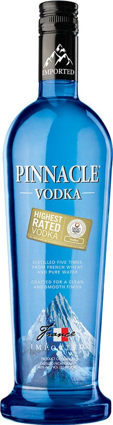 A premium vodka at an affordable price, Pinnacle® Vodka boasts more than 40 flavors -- perfect for making delicious vodka drinks.