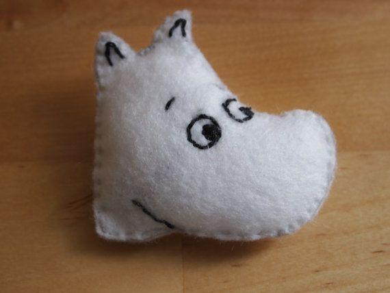 Felt Moomin pin $6