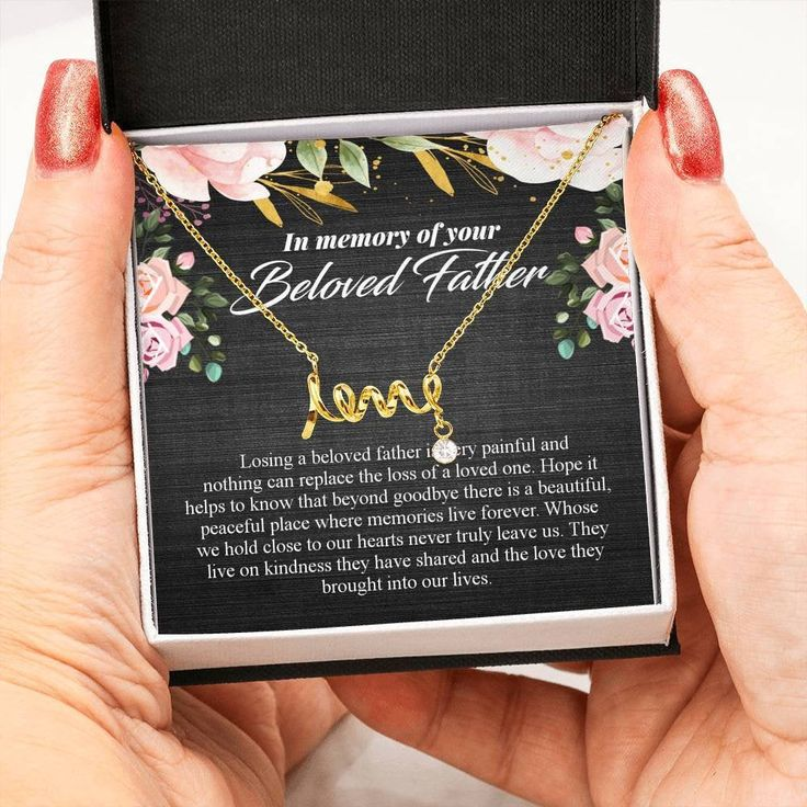 Personalized Bereavement Gift, Customized Memorial Gift