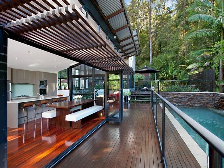 Outdoor living design with balcony from a real Australian home - Outdoor Living photo 1289742